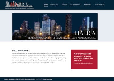 Houston Association of Legal Recruitment Administrators